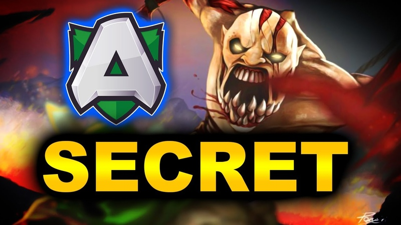 SECRET vs ALLIANCE SEMI FINAL AMD SAPPHIRE OGA DOTA PIT 3 DOTA 2