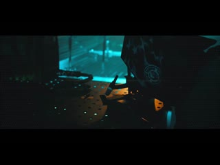 color grading Cyberpunk 2077. BlackMagic Pocket Cinema 4k Gideon