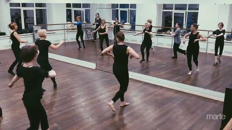 Бродвейский джаз в школе танцев МАРТЭ
