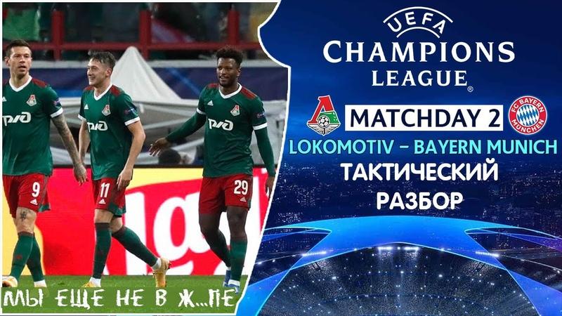 Локомотив Бавария Тактический Разбор Лига Чемпионов