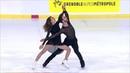 Габриэлла Пападакис Гийом Сизерон Произвольный танец Internationaux de France