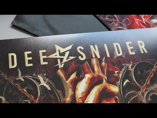 Dee Snider - Leave a Scar | Limited Marbled Vinyl Edition | Wooden Box | Unboxing and more