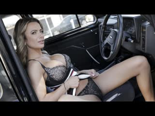 Shalina Devine - Give me an orgasm for a discount (Big Tits, MILF, Blowjob, Blonde, Car, Fake Taxi, Hardcore, All Sex)