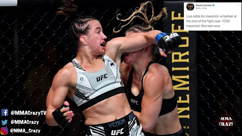 MMA Pros React to Maycee Barber controversial win over Miranda Maverick at UFC Vegas 32