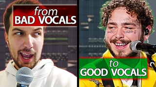 Make your VOCALS sound like Post Malone (if you can't sing) - Vocal FX Tutorial