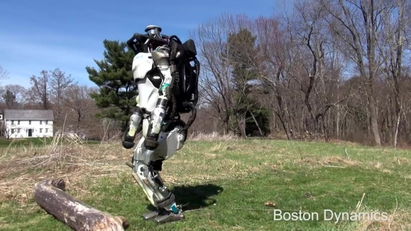 Boston Dinamics - приключение робота Атласа