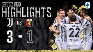 Juventus 3-1 Genoa   Kulusevski Scores Superb Opener!   EXTENDED Highlights