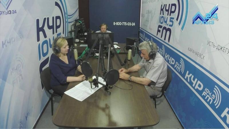 Студия FM: Умар Эльканов (19.05.2016)