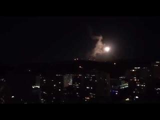 СРОЧНО: ПВОСирии отражает израильский удар поДамаску