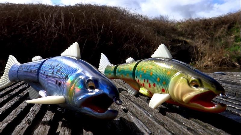 Hard choice pike vs StrikePro Salmonid Minnow Fishing underwater attack Рыбалка щука атакует