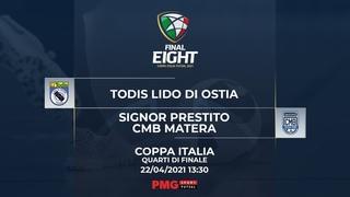 Final 8 Serie A Futsal - Todis Lido di Ostia vs Signor Prestito CMB Matera
