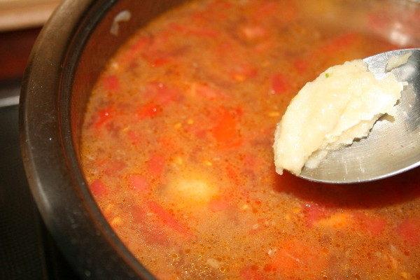 Суп с говядиной и сладким перцем, изображение №10