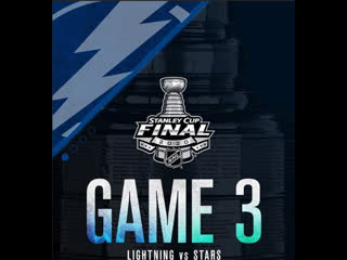 Stanley Cup Final 2020 Game 3 Tampa Bay Lightning-Dallas Stars