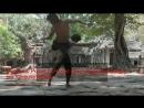 Quelques exercices de Mé Som en Kbach kun boran khmer au Prasat Ta Prohm