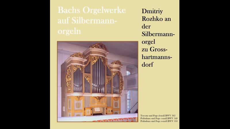 Johann Sebastian Bach Toccata und Fuge d moll BWV 565 1 Toccata