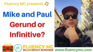 """Gerund or Infinitive?"" English Verb Grammar and Vocabulary Speaking Practice with Fluency MC"