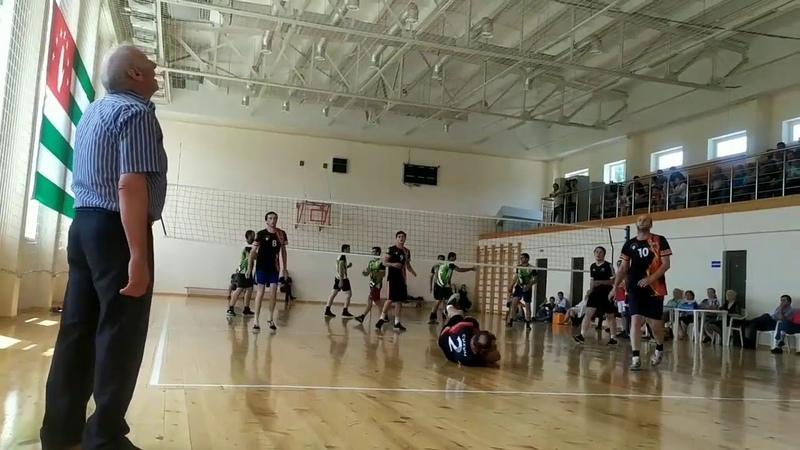 Чемпионат Абхазии по волейболу п Агудзера июль 2020год