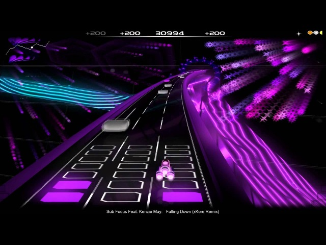 [Audiosurf,Mono Pro,Veteran] Sub Focus feat. Kenzie May - Falling Down (xKore Remix)