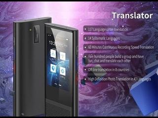 Распаковка Boeleo W1 3 0 голосовой электронный переводчик WiFi+4G+offline+AI