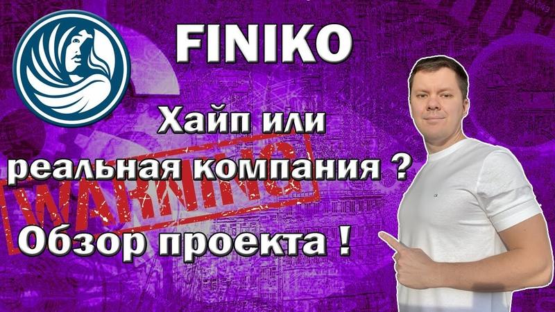 Finiko обзор проекта   Финико хайп или реальная компания ?