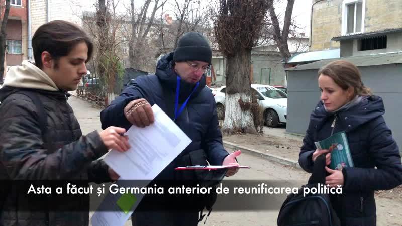 Apel pentru pensii și cetățenie la Chișinău