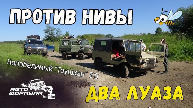 Два ЛуАЗа против Нивы Непобедимый Таушкан 3 0 АвтоФормула 4х4