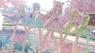 [MMD]Girl's Day(걸스데이)-Twinkle Twinkle(반짝반짝){14Models}(Vocaloid Miku Haku Luka Rin)