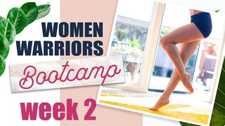 Legs Workout - Make Them Elegant and Strong | Women Warriors Bootcamp