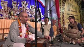 Киртан Е. М.  Прабхавишну Прабху,  Е. С.  Бхакти Вайбхава Свами.  Фестиваль Садху Санга 14 09 2015 г