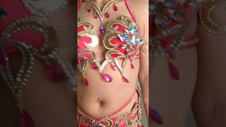 Belly dance fashion show by Aida Style
