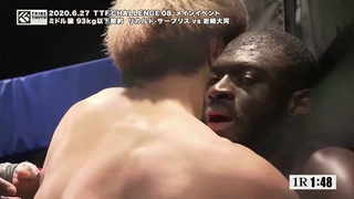 TTF CHALLENGE 08 第8試合 Main event Ricard surpris vs岩崎大河 Taiga Iwasaki