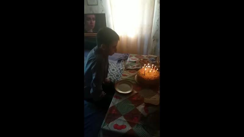 день рождения сынульки. 14 лет!)