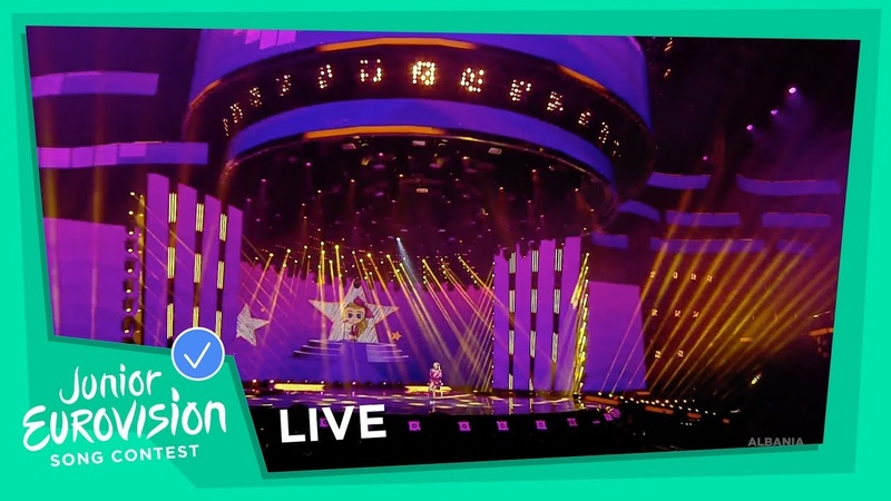 Efi Gjika - Barbie - LIVE - Albania 🇦🇱 - Junior Eurovision 2018