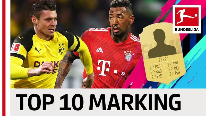 Boateng Piszczek Other Top Defenders EA SPORTS FIFA 19 Top 10 Marking