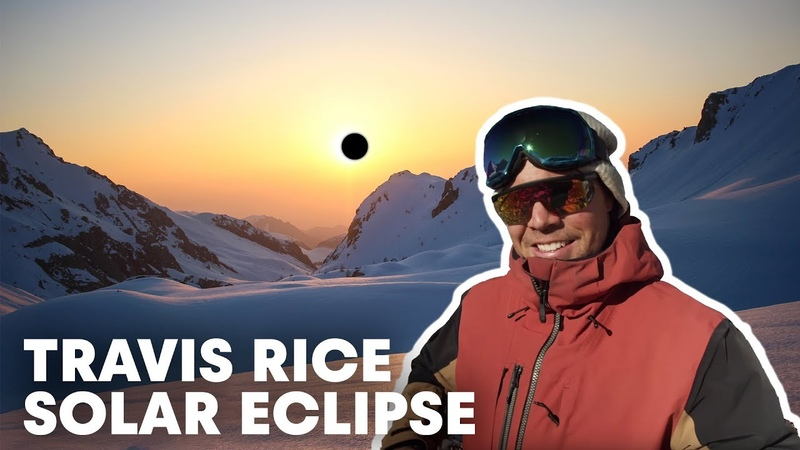 Travis Rice Takes Flight During a Solar Eclipse in A Shot In The Dark