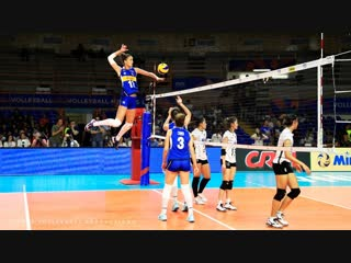 Top 50 best womens volleyball spikes. powerful spikes. vnl 2018.