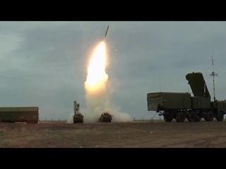 С-400 в действии: эффектные кадры стрельб ЗРС под Астраханью