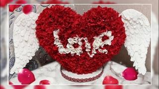 ВАЛЕНТИНКА!ПОДАРОК НА ДЕНЬ ВЛЮБЛЕННЫХ,8 МАРТА, ГОДОВЩИНУ,УКРАШЕНИЕ ДЛЯ СВАДЬБЫ! DIY valentine's day