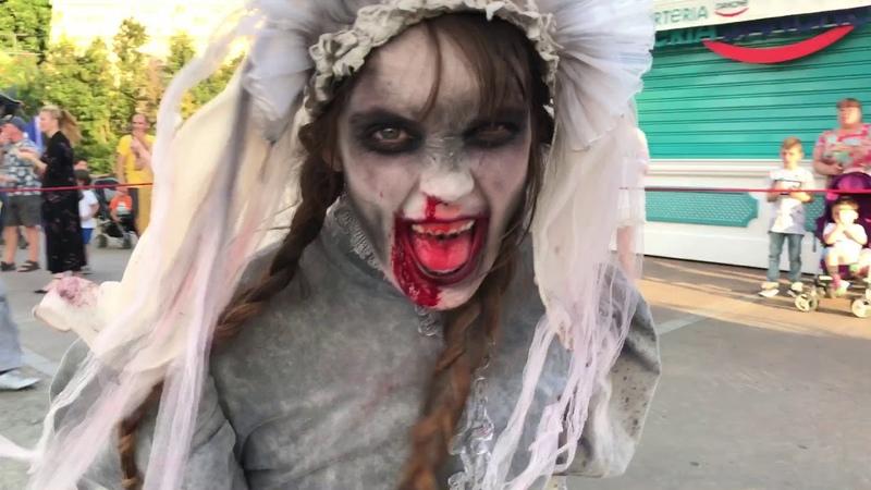 Halloween parade Port Aventura