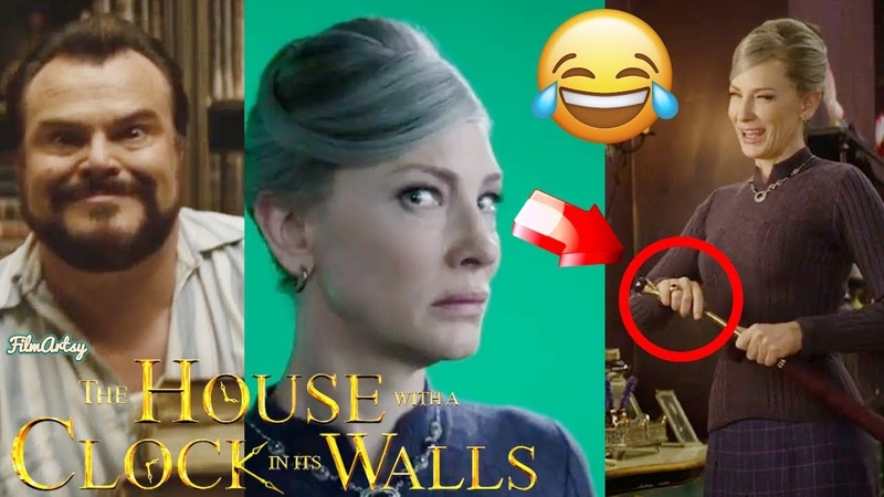 The House with a Clock in Its Walls Hilarious Bloopers and Gag Reel - Cate Blanchett Funny