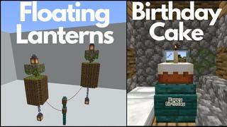Minecraft : 10 Build Hacks and Ideas (Part 1)