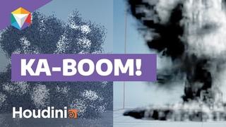 VFX Explosions in Houdini