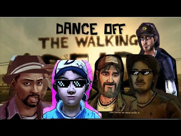 TWDG DANCE OFF Clem Lee Kenny Luke Nick