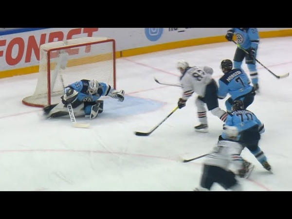 Krasotkin saves with his pad