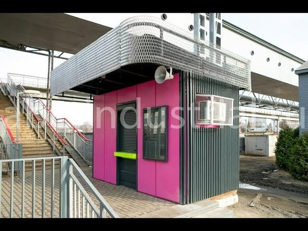 Билетная касса на платформе Красный балтиец