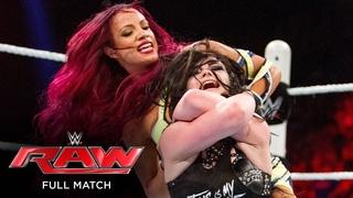 FULL MATCH - Paige vs. Sasha Banks: Raw, July 27, 2015