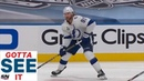 GOTTA SEE IT: Steven Stamkos Gets By Stars And Scores In Return To Lineup