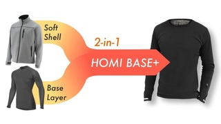 TALKFUNDING TODAY homi base plus double layer thermal