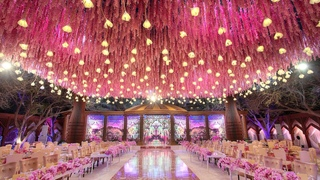 Qatari Royal Wedding- Two Weeks Production At The Bride's Private Garden