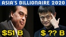 Top 10 Richest People In Asia 2020